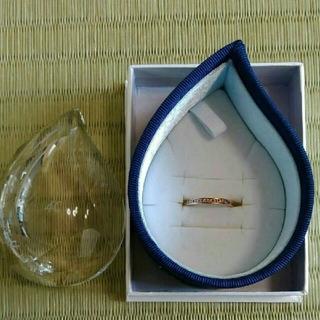 ヨンドシー(4℃)の4℃ 10K ピンクゴールド リング(リング(指輪))
