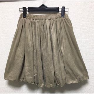 archivesw**68-90cm*スェード基調のミニスカート(ミニスカート)