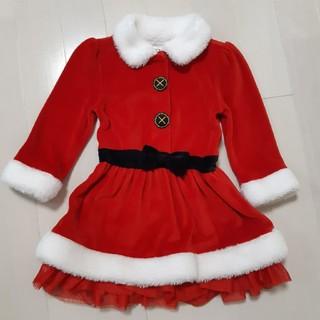 トイザラス(トイザらス)のクリスマス サンタ ワンピース 80(ワンピース)