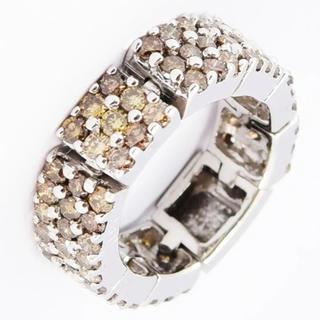 ポンテヴェキオ(PonteVecchio)のポンテヴェキオ リング  指輪 ブラウンダイヤ 約10号 新品仕上げ(リング(指輪))