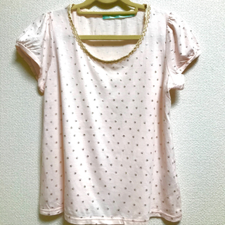 フランシュリッペ(franche lippee)のピンクの肉球カットソー(カットソー(半袖/袖なし))