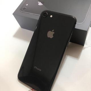 Apple - iPhone8 64GB Space gray SIMフリー