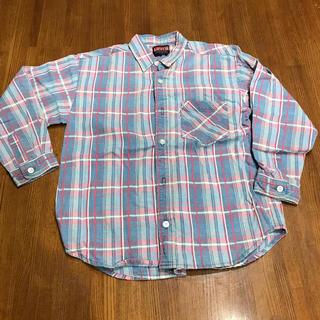 リーバイス(Levi's)のリーバイス  立体デニムシャツ 130 日本製(Tシャツ/カットソー)