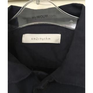 サマンサモスモス(SM2)のSM2rhythm紺色羽織り(テーラードジャケット)