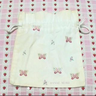 ハナエモリ(HANAE MORI)の《同封10円》モリハナエ 巾着袋(ポーチ)