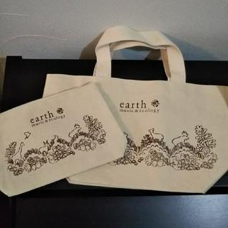 アースミュージックアンドエコロジー(earth music & ecology)のearth music&ecology トートバッグ ポーチセット(トートバッグ)