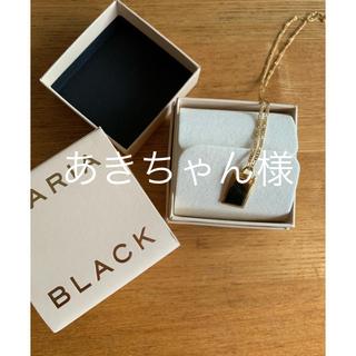 ドゥーズィエムクラス(DEUXIEME CLASSE)のMARIA BLACKネックレス(ネックレス)