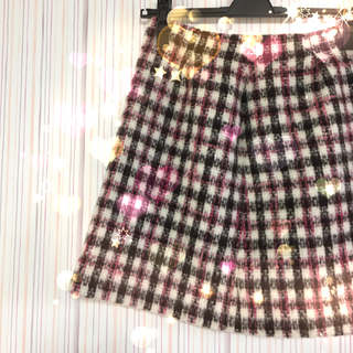 ビーラディエンス(BE RADIANCE)のチェックスカート♡(ミニスカート)