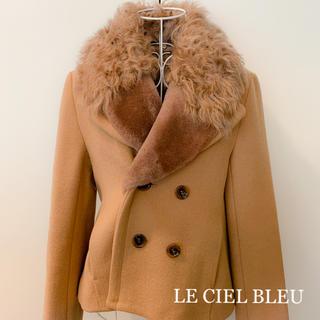 ルシェルブルー(LE CIEL BLEU)のルシェルブルー アウター(ピーコート)