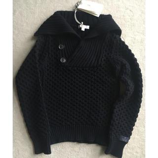 グッチ(Gucci)の美品★グッチ セーター 黒 4歳 ニット 男の子 チルドレン キッズ トップス(ニット)