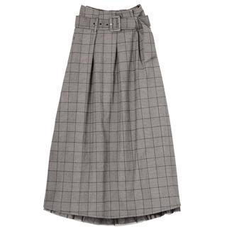 イートミー(EATME)のBOXタックフレアスカート(ロングスカート)