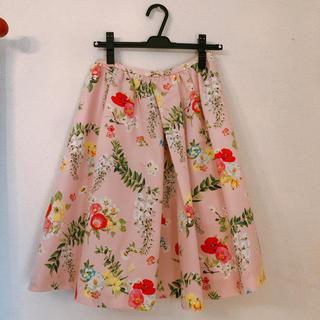 チェスティ(Chesty)のチェスティ 花柄スカート 藤柄 ピンク 0サイズ chesty(ロングスカート)