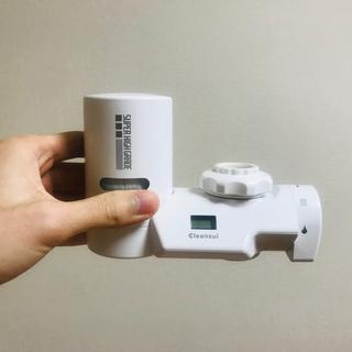 ミツビシケミカル(三菱ケミカル)の浄水器 三菱ケミカルクリンスイ MD201-WT 蛇口直結型浄水器 (浄水機)
