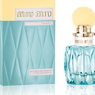 ミュウミュウ(miumiu)のmiumiu ローブルーオードパルファム 空瓶(香水(女性用))