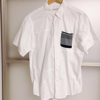 メンズ白シャツ(シャツ)