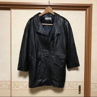 セオリー(theory)の【極美品】VIA NUOVA PELLE イタリア製 高級ラムレザージャケット(ライダースジャケット)