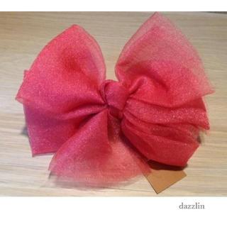 ダズリン(dazzlin)の新品 鮮やか♡ ダズリン ビッグ リボン バレッタ ヘアアクセサリー(バレッタ/ヘアクリップ)