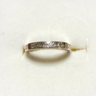ティファニー(Tiffany & Co.)のTIFFANY ティファニー ノーツ リング シルバー(リング(指輪))