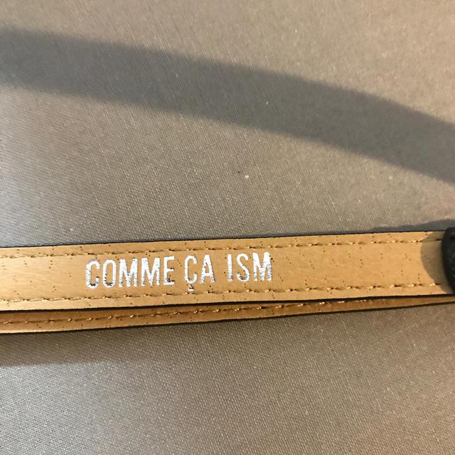 COMME CA ISM(コムサイズム)の コムサ イズム ベルト レディースのファッション小物(ベルト)の商品写真