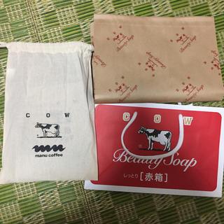 ギュウニュウセッケン(牛乳石鹸)の牛乳石鹸  manu coffee (ボディソープ/石鹸)
