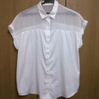 ジーユー(GU)のGU*透けシャツ(シャツ/ブラウス(半袖/袖なし))