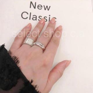 アパルトモンドゥーズィエムクラス(L'Appartement DEUXIEME CLASSE)のシルバー925 ぷっくリング silver925 リング(リング(指輪))