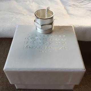 マルタンマルジェラ(Maison Martin Margiela)の大幅値下新品63%off マルジェラ ボルトナットリング シルバー M(リング(指輪))