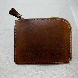 ツチヤカバンセイゾウジョ(土屋鞄製造所)の土屋鞄 ナチューラ ヌメ革Lファスナー 箱付き(折り財布)