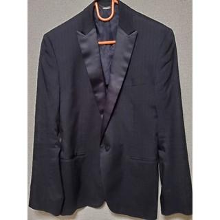 テットオム(TETE HOMME)のテットオム tetehomme テーラードジャケット ブラック 黒(テーラードジャケット)