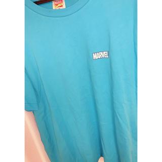 マーベル(MARVEL)のMARVEL 青Tシャツ(Tシャツ(半袖/袖なし))