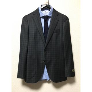 コムサメン(COMME CA MEN)の新品 コムサメン × フィラルテ イタリア製生地 ウール ジャケットS(テーラードジャケット)