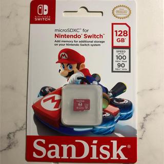 ニンテンドースイッチ(Nintendo Switch)のmicroSDXCカード for Nintendo Switch 海外限定版(PC周辺機器)
