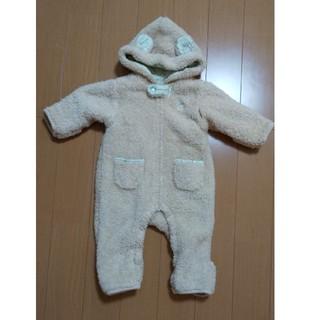 アフタヌーンティー(AfternoonTea)の新生児コート もこもこロンパース(ロンパース)