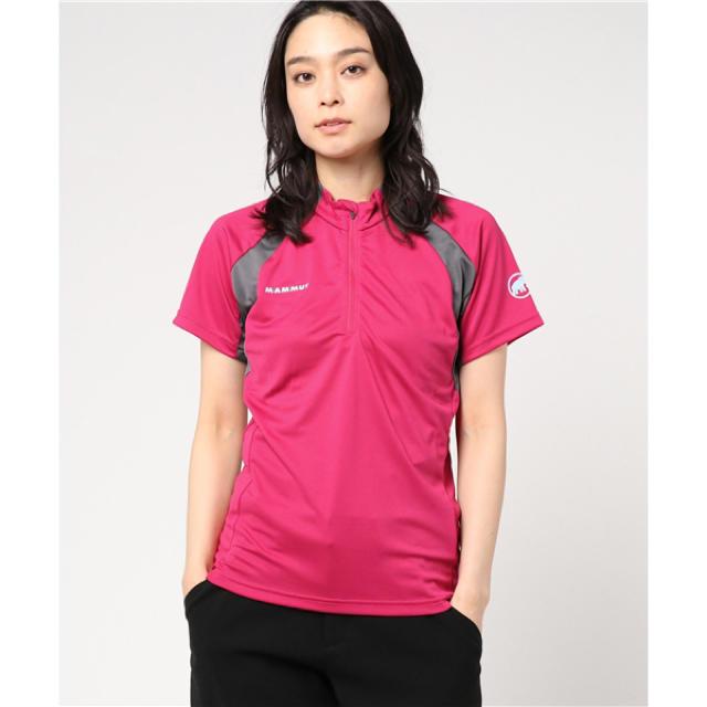 Mammut(マムート)のMAMMUT マムート パフォーマンス ドライ ジップTシャツ レディースS新品 スポーツ/アウトドアのアウトドア(登山用品)の商品写真
