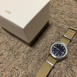 エテ(ete)のete ユニセックス 腕時計(腕時計)