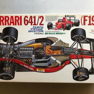 フェラーリ(Ferrari)の同時購入で送料無料 タミヤ 1/12 フェラーリ 641/2 プラモデル(模型/プラモデル)
