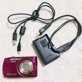 カシオ(CASIO)のSDカード付 CASIO EX-Z2300 デジカメ パープル(コンパクトデジタルカメラ)