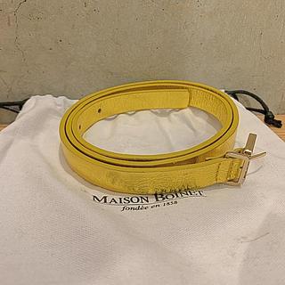 ユナイテッドアローズ(UNITED ARROWS)のMaison Boinetメゾンボワネ 新品未使用ベルト ゴールド(ベルト)