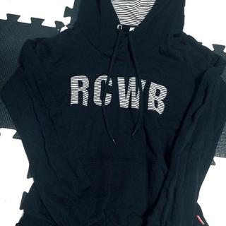 ロデオクラウンズワイドボウル(RODEO CROWNS WIDE BOWL)のRCWB   ロデオ パーカー ブラック(パーカー)