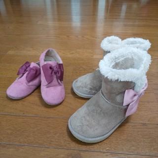 エニィファム(anyFAM)の16cm 靴とブーツのセット(ブーツ)