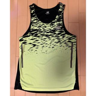 ニューバランス(New Balance)のニューバランス ハンゾー ランシャツ シングレット(ウェア)