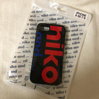 ニコアンド(niko and...)のNiko and… シリコンケース(iPhoneケース)