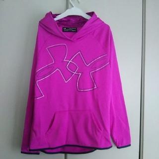 アンダーアーマー(UNDER ARMOUR)の新品!アンダーアーマー裏起毛パーカー160(Tシャツ/カットソー)