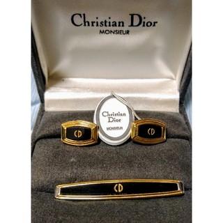 クリスチャンディオール(Christian Dior)のディオール ネクタイピン カフスセット(ネクタイピン)