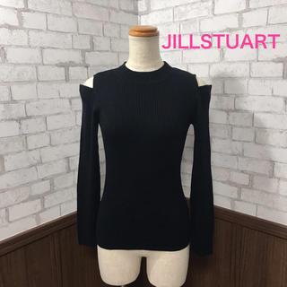 ジルスチュアート(JILLSTUART)のJILLSTUART 肩開き ニット 美品(ニット/セーター)