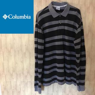 コロンビア(Columbia)の【激レア】コロンビア長袖ボーダーポロシャツ☆ビッグシルエット(ポロシャツ)