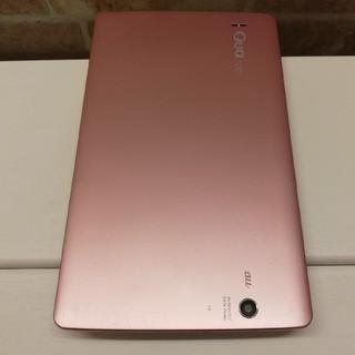 エルジーエレクトロニクス(LG Electronics)のとり様専用 防水・防塵 8インチタブレット Qua tab PX ピンク(タブレット)