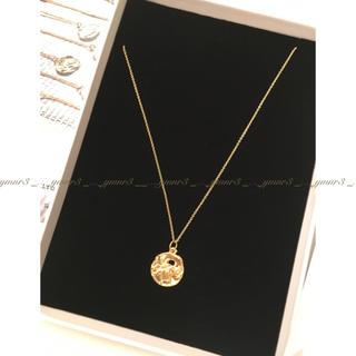 ドゥーズィエムクラス(DEUXIEME CLASSE)のALIGHIERI  ネックレス Taurus ゴールドプレーテッドネックレス(ネックレス)