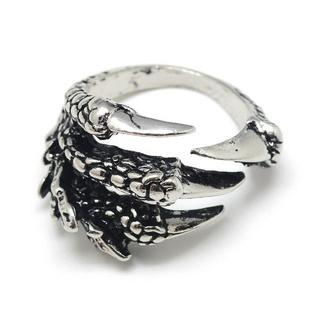 【z6】ドラゴン リング ホールド リング ドラゴンの爪 竜 龍 鷹 イーグル(リング(指輪))