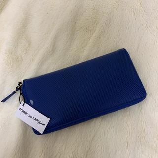 コムデギャルソン(COMME des GARCONS)のコム・デ・ギャルソンレザー長財布(財布)
